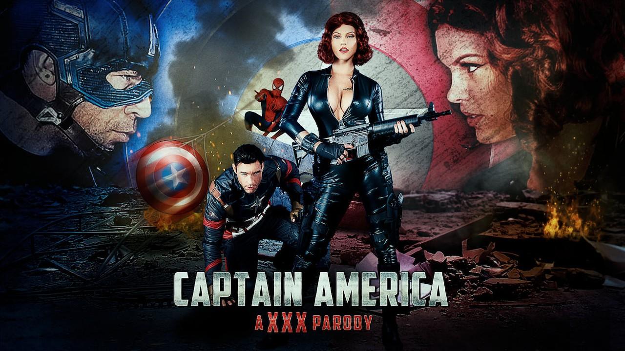 Captain America Black Widow