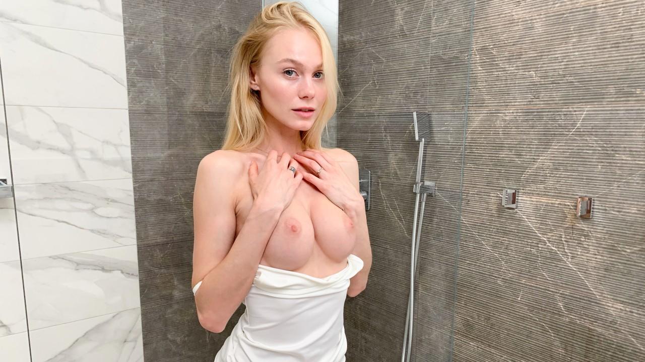 Beautiful Blonde Teen Solo