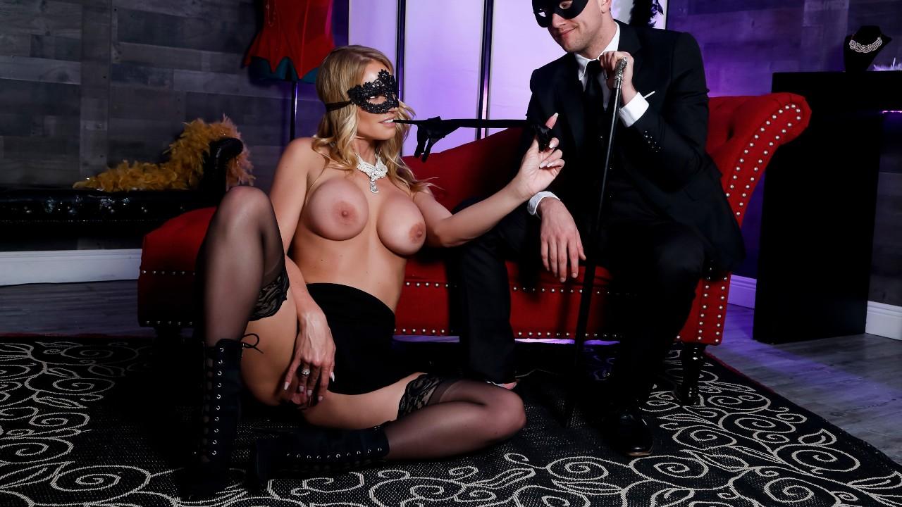 Masquerade Ball-Sucking, Rachael Cavalli, Van Wylde, [Brazzers]