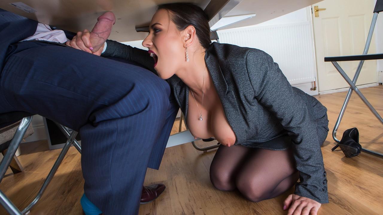 Secretary Upskirt Porn And Hot Office Sex