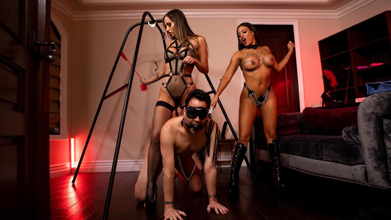The Dommes Next Door: Double Dommed, Luna Star, Desiree Dulce, Keiran Lee, [Brazzers]