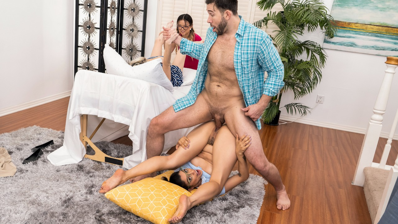 Squirt, Pop and Deliver, Vanessa Sky, Lulu Chu, Will Pounder, [Brazzers]