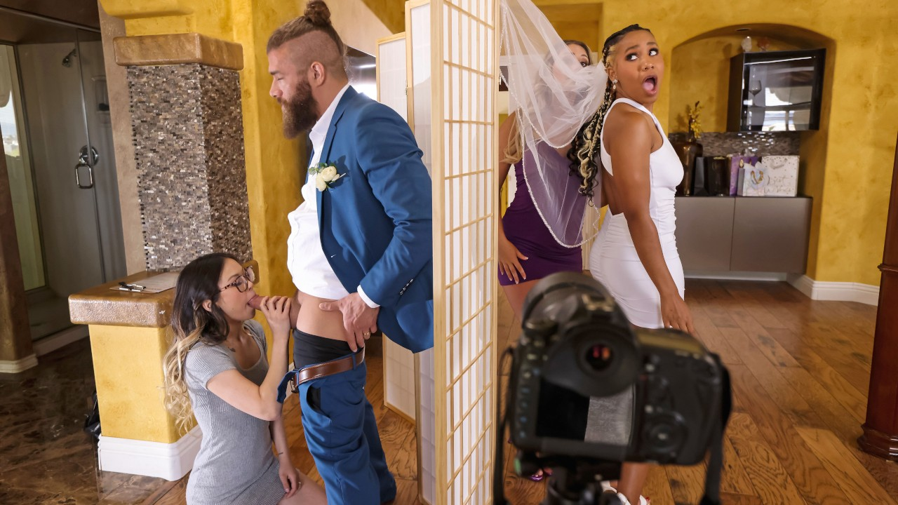 Wedding Smashers Part 3, Lulu Chu, Kayley Gunner, Xander Corvus, [Brazzers]