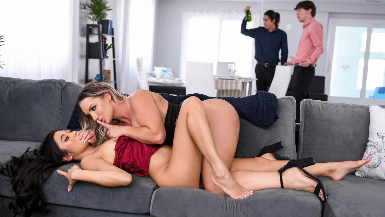 Wet And Wild Dinner Party, Cali Carter, Vina Sky, [Brazzers]