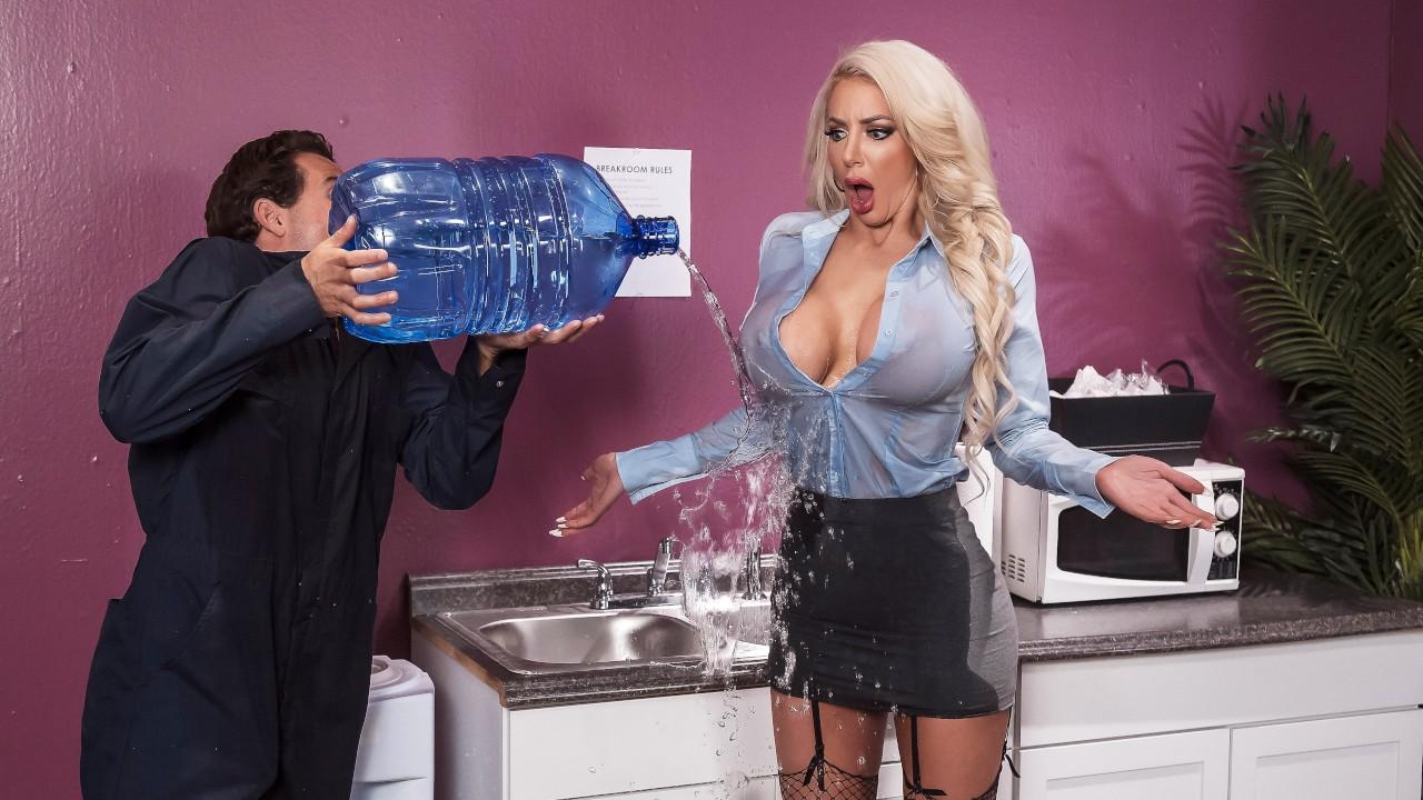 Water Cooler Cock, Nicolette Shea, Tyler Nixon, [Brazzers]