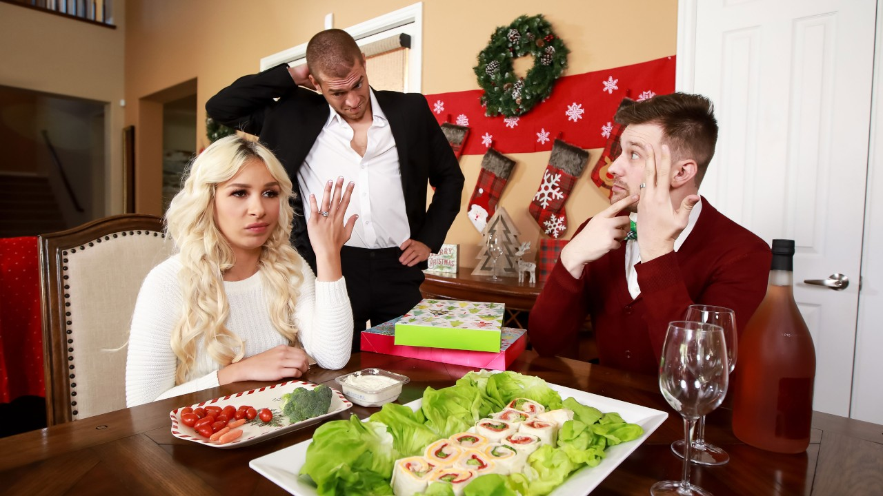 Horny For The Holidays: Part 2, Carmen Caliente, Xander Corvus, [Brazzers]