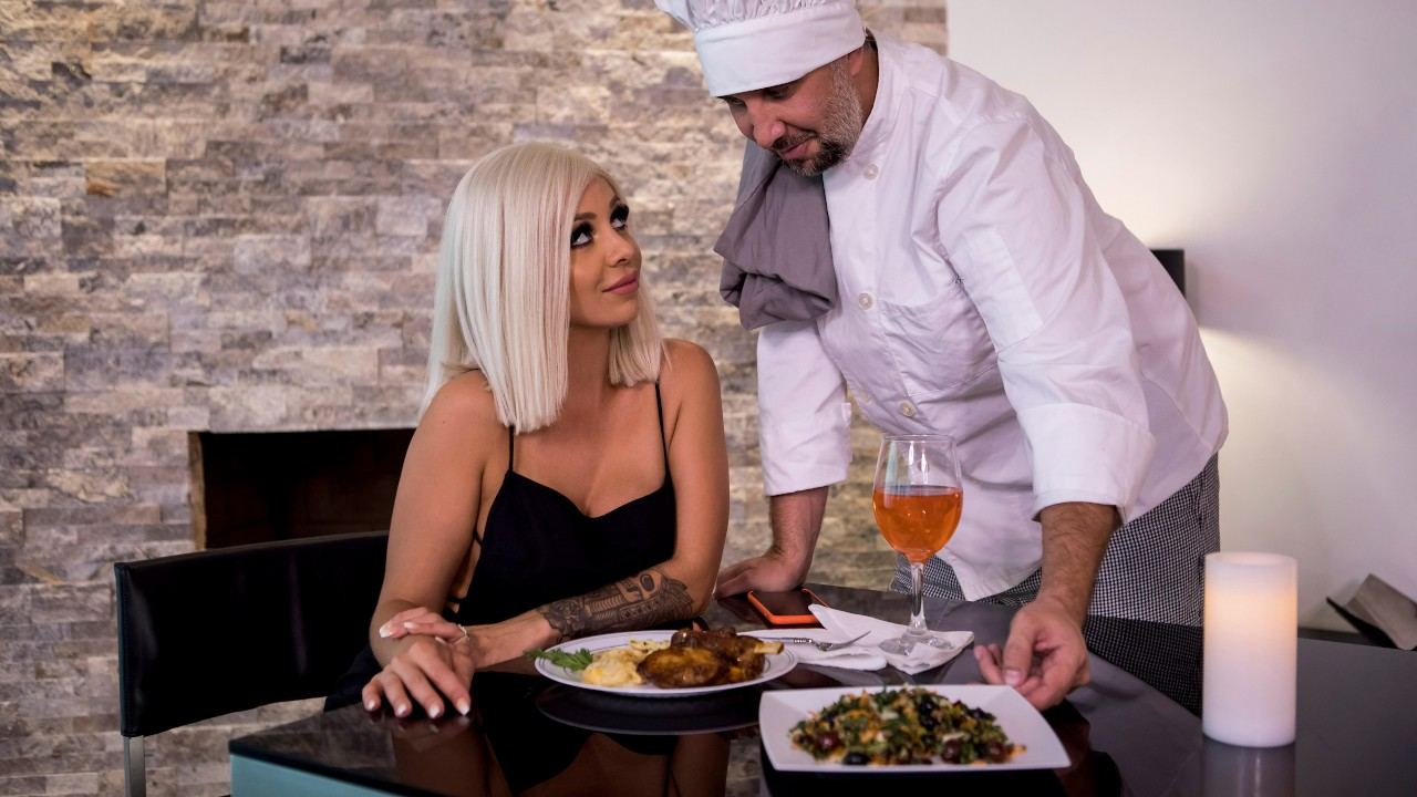 Pussy For The Private Chef, Madelyn Monroe, Keiran Lee, [Brazzers]