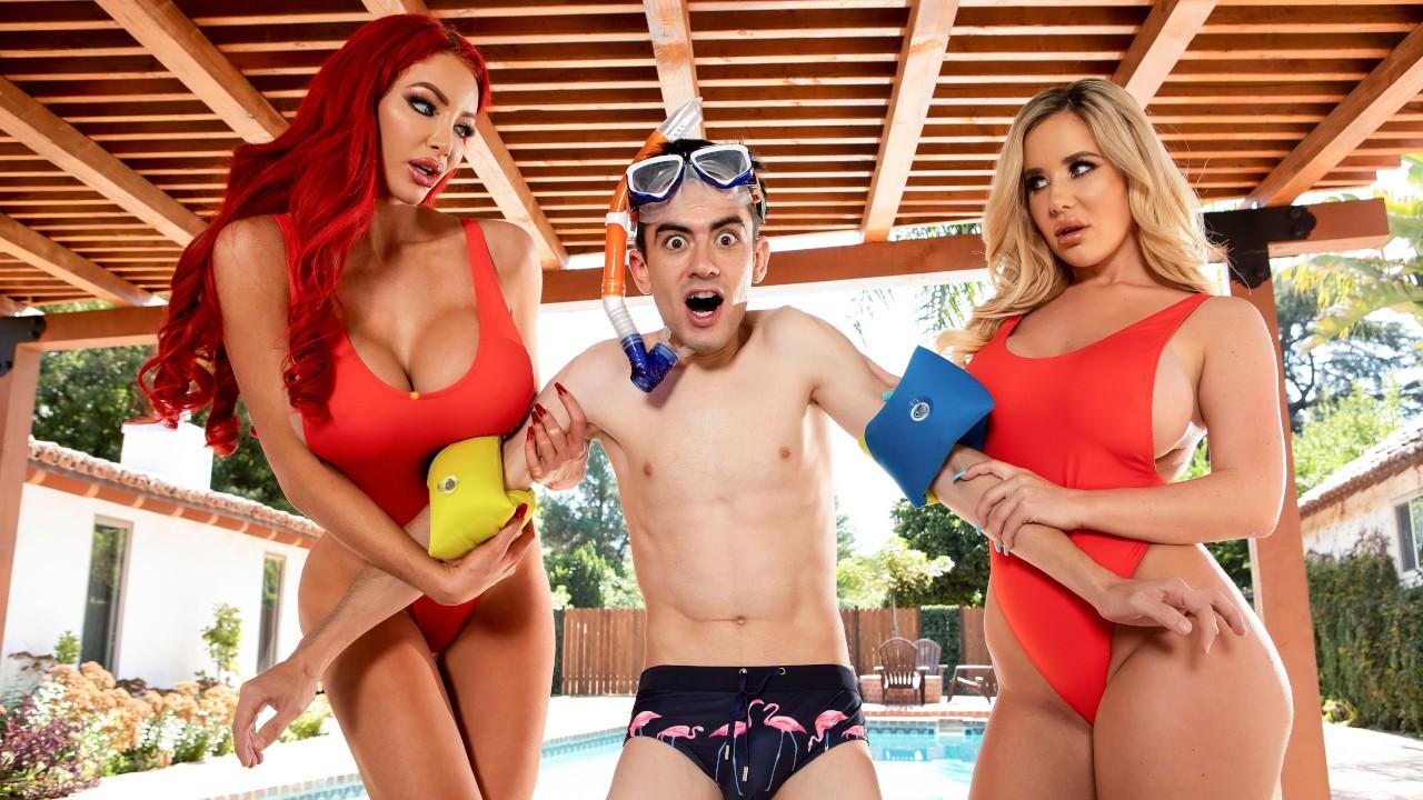 Big Tits Save Lives, Nicolette Shea, Savannah Bond , Jordi El Nino Polla, [Brazzers]