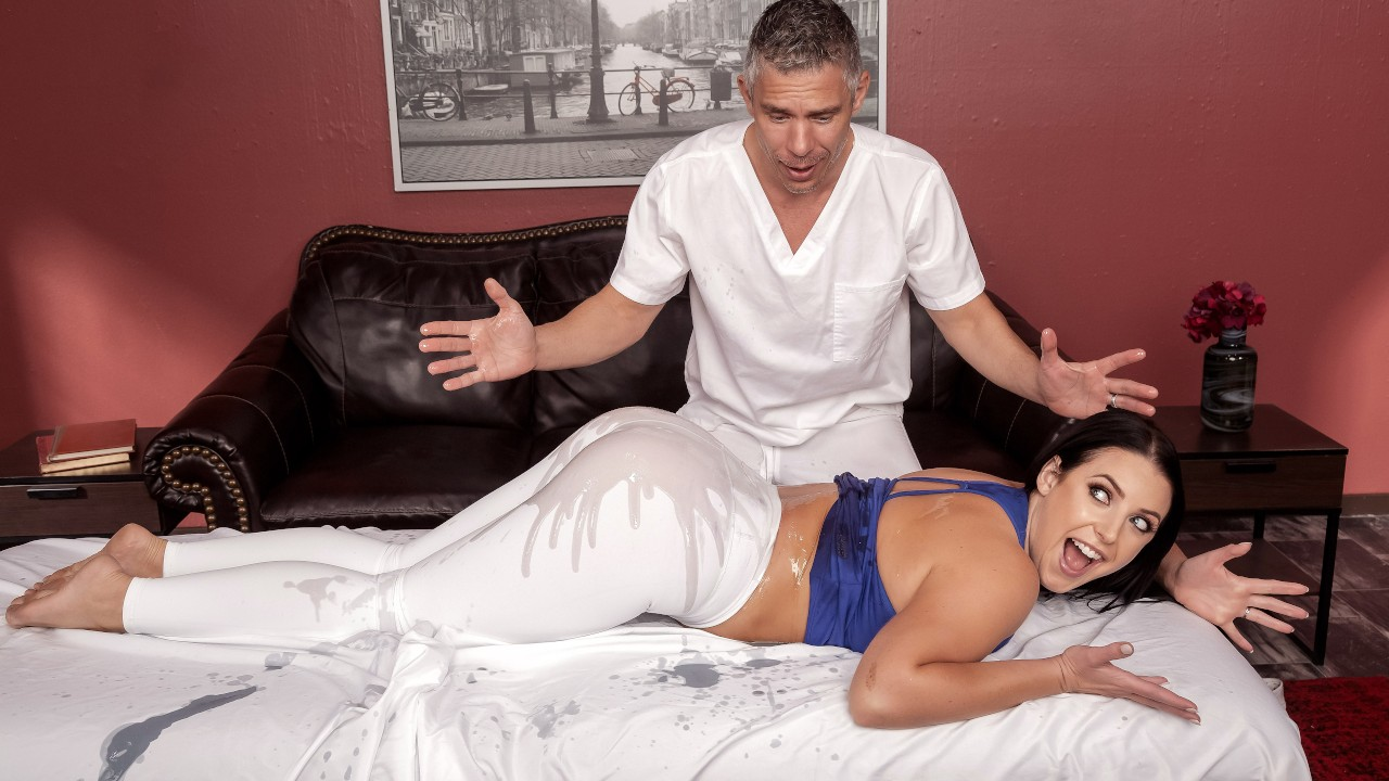 Assential Oil, Angela White, Mick Blue, [Brazzers]