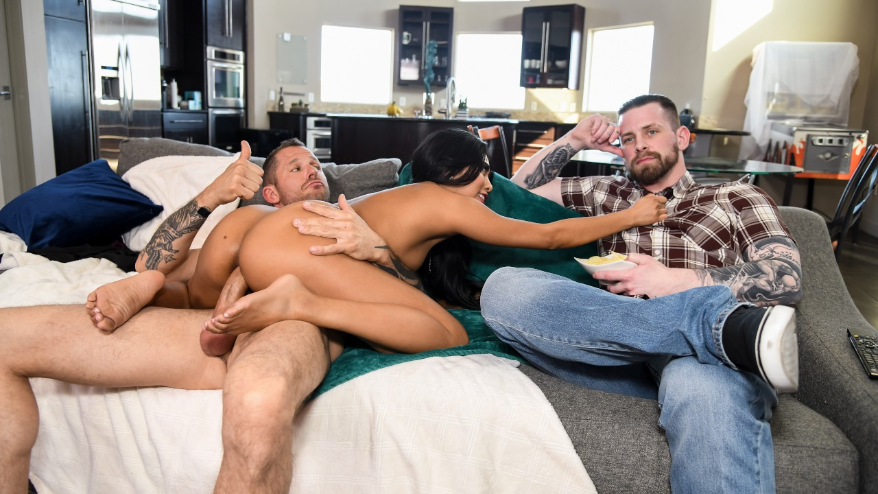 The Silent Treatment, Ember Snow, Scott Nails, [Brazzers]