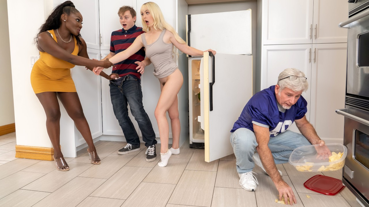 MILF's Got Good Threeway Game, Osa Lovely, Lilly Bell, Anthony Pierce, [Brazzers]