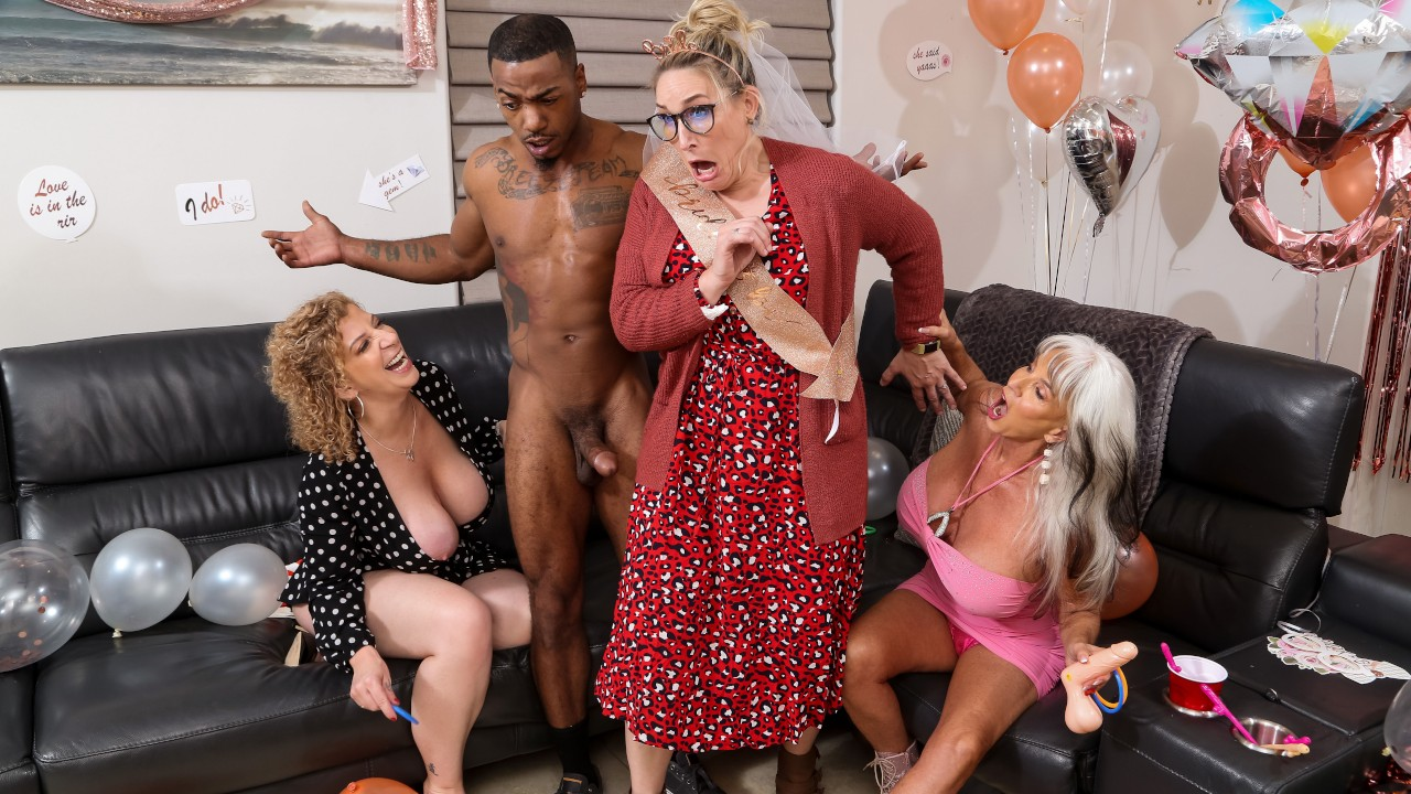 Double Dip On The Magic Stick, Sara Jay, Sally D'Angelo, Mazee The Goat, [Brazzers]