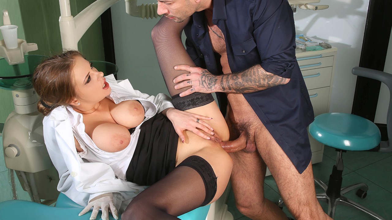 Dentist and bf gangbanging blonde