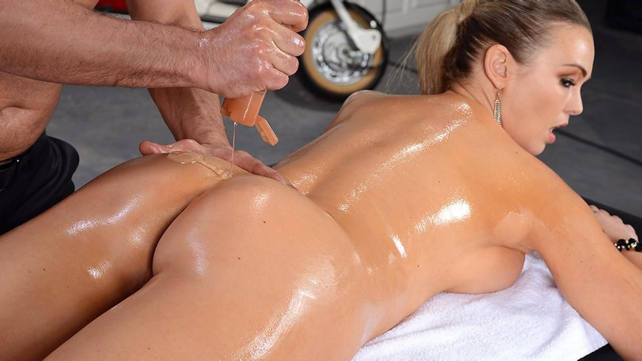 Big ass massage porn pics