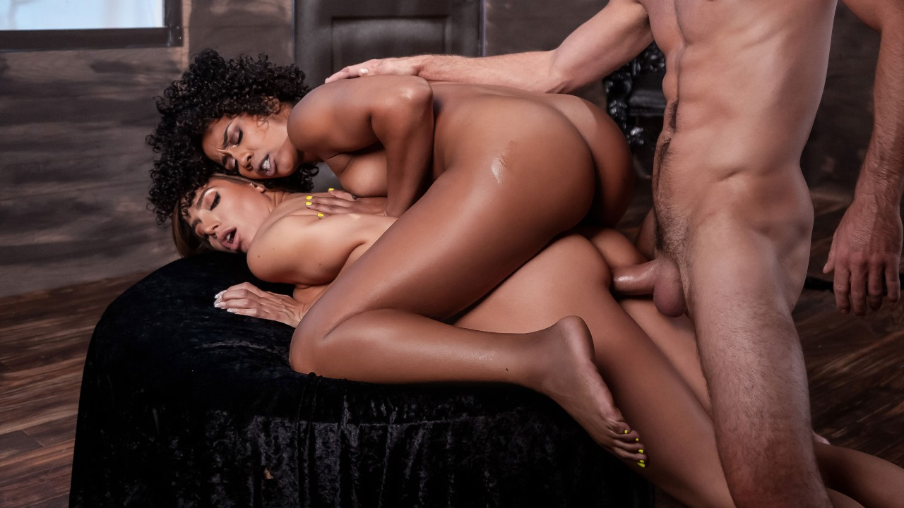 MILF Witches Part 3, Misty Stone, Desiree Dulce, Lucas Frost, [Brazzers]