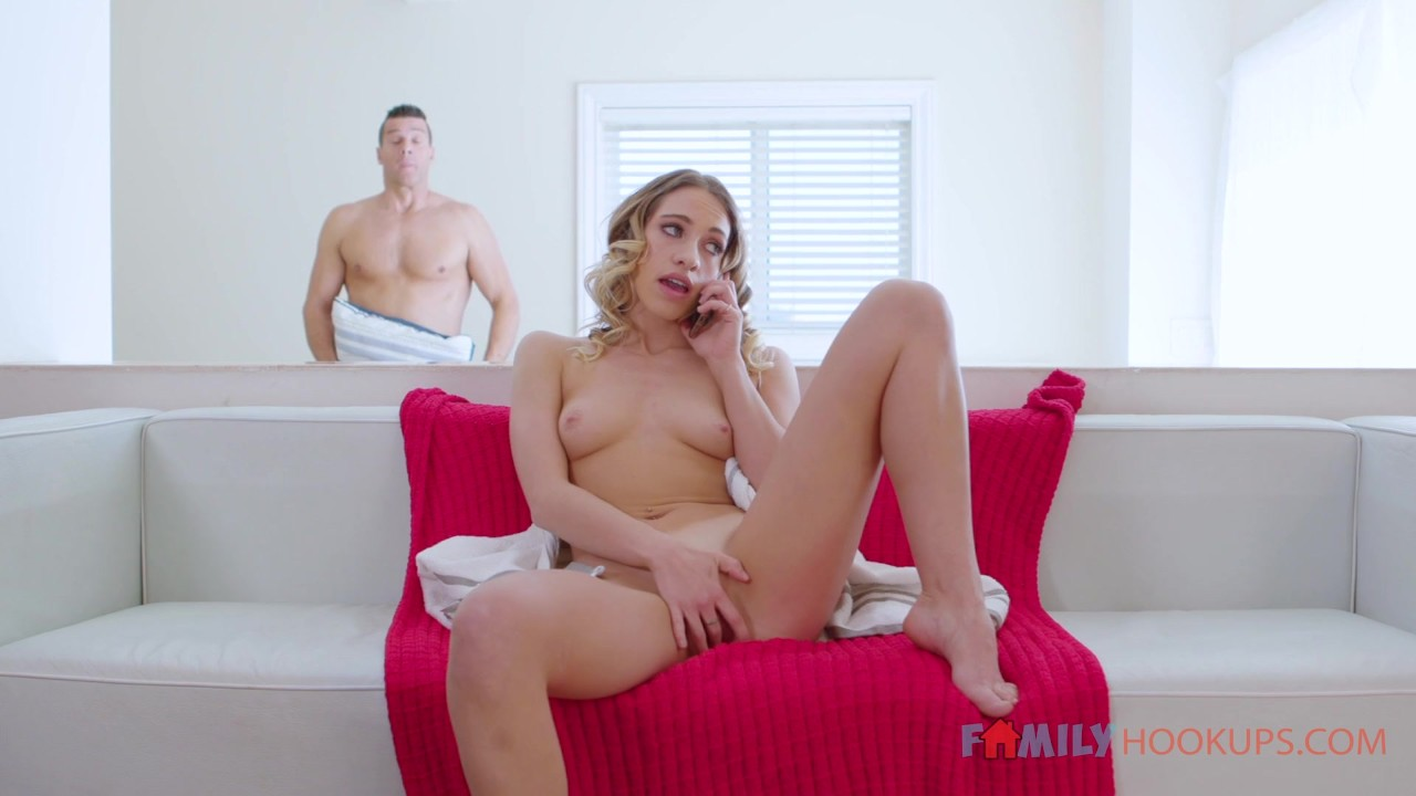 Step Dad Fucks Blonde Daughter