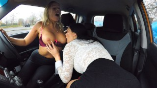 Hot Blonde Student Has Oral Test