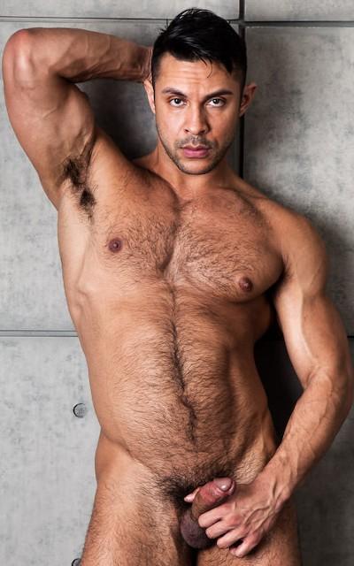 NoirMale model - Seth Santoro