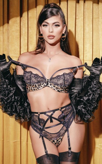 Watch Domino Presley scenes at TransAngels