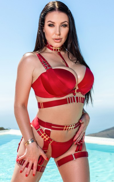 Angela White on Public Agent