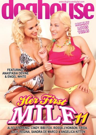 Her First MILF #11 Porn DVD on Mile High Media with Alex, Anastasia Devine, Angelica Kitten, Frida, Bibi Fox, Cindy Gold, Engel White, Rossa J'Honson, Regina, Sandra De Marco