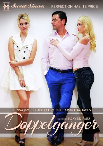 Doppelganger Porn DVD on Mile High Media with Alexa Grace, Chad Alva, Kenna James, Lucas Frost, Ryan Driller, Samantha Hayes