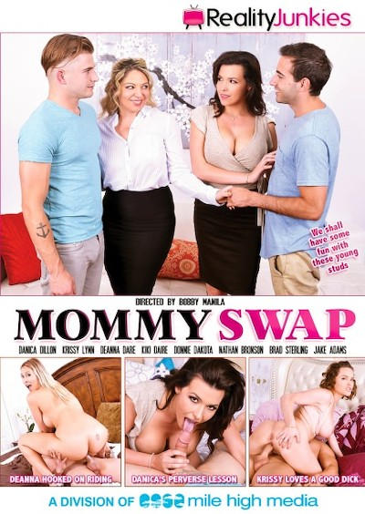 Mommy Swap Reality Porn DVD on RealityJunkies with Deanna Dare