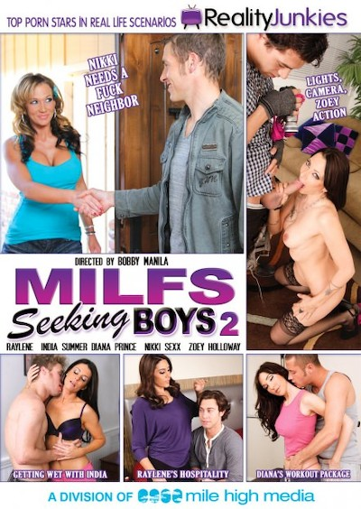 MILFs Seeking Boys #02 Reality Porn DVD on RealityJunkies with Diana Prince