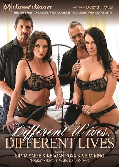 Different Wives Different Lives Porn DVD on Mile High Media with Marcus London, Tommy Gunn, Silvia Saige, Reagan Foxx, Vera King