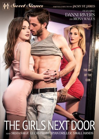 The Girls Next Door Porn DVD on Mile High Media with Danni Rivers, Lucas Frost, Silvia Saige, Ryan Driller, Small Hands, Mona Wales