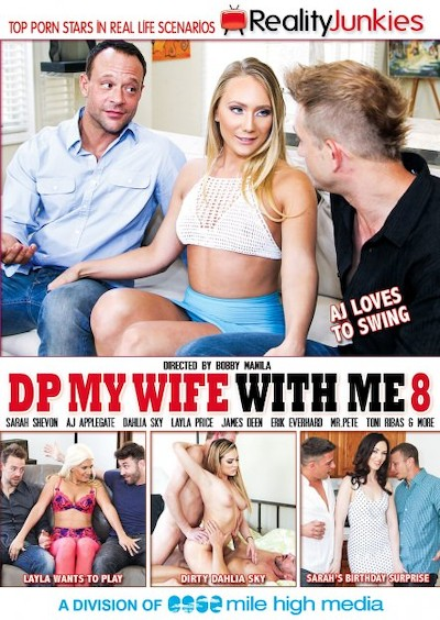 DP My Wife With Me #08 Reality Porn DVD on RealityJunkies with AJ Applegate