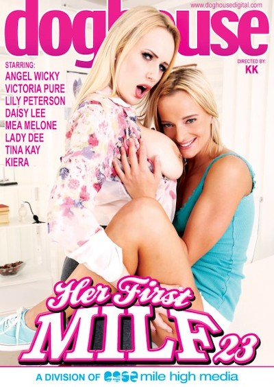 Her First MILF #23 Porn DVD on Mile High Media with Angel Wicky, Daisy Lee, Lady Dee, Lily Shine, Keira, Mea Melone, Tina Kay, Victoria Pure