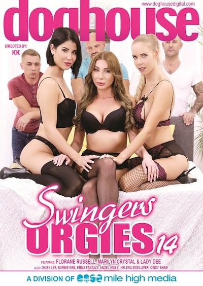 Swingers Orgies 14 Porn DVD on Mile High Media with Angel Emily, Daisy Lee, Cindy Shine, Florane Russell, Kristof Cale, Lady Dee, Mike Angelo, Matt Darco, Steve Q, Thomas, Helena Moeller, Barbie Esm, Marilyn Crystal, Emma Fantazy