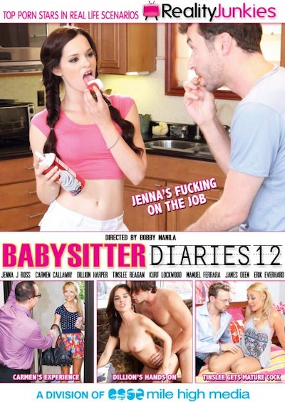 Babysitter Diaries #12 Reality Porn DVD on RealityJunkies with Dillion Harper
