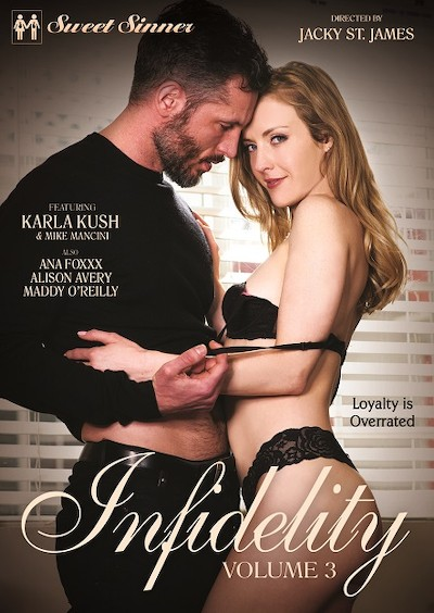 Infidelity 3 Porn DVD on Mile High Media with Alex Jones, Ana Foxxx, Karla Kush, Mike Mancini, Maddy OReilly, Ramon Nomar, Will Pounder, Alison Avery