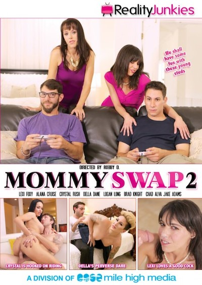 Mommy Swap #02 Porn DVD on Mile High Media with Alana Cruise, Della Dane, Crystal Rush, Chad Alva, Brad Knight, Jake Adams, Logan Long, Lexi Foxy