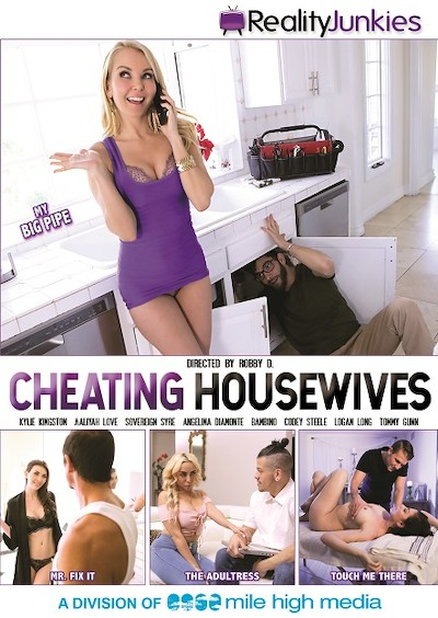 Cheating Housewives Porn DVD on Mile High Media with Aaliyah Love, Codey Steele, Logan Long, Tommy Gunn, Sovereign Syre, Bambino, Angelina Diamanti