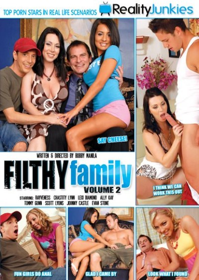 Filthy Family Volume 02 Porn DVD on Mile High Media with Ally Kay, Chastity Lynn, Evan Stone, Johnny Castle, Lexi Diamond, Scott Lyons, Tommy Gunn, RayVeness