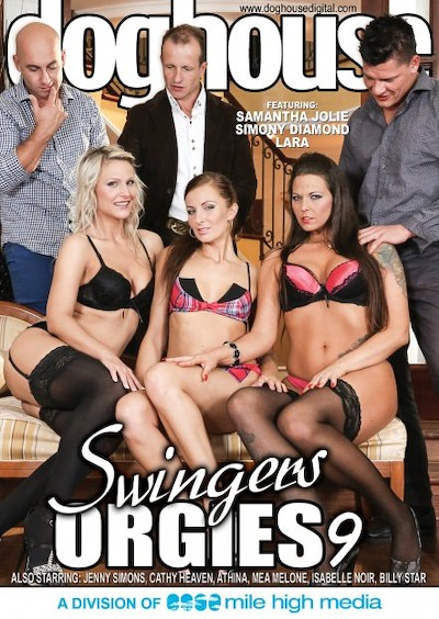 Swingers Orgies #09 Porn DVD on Mile High Media with Athina, Denis Reed, George Uhl, Cathy Heaven, Billie Star, Isabella Noir, Jenny Simons, Mea Melone, Lara, Samantha Jolie, Neeo, Thomas Lee, Simony Diamond, Thomas