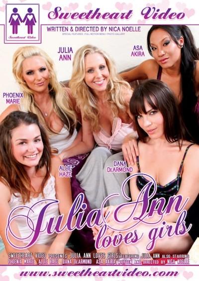 Julia Ann Loves Girls Porn DVD on Mile High Media with Allie Haze, Asa Akira, Dana DeArmond, Julia Ann, Phoenix Marie