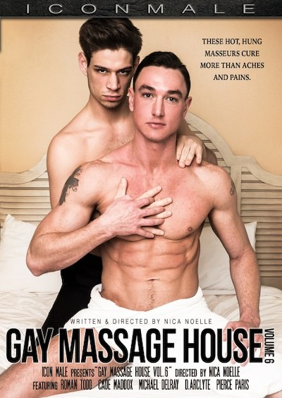 Gay Massage House #06 - Cade Maddox, Michael Delray, Roman Todd, Pierce Paris, D.Arclyte