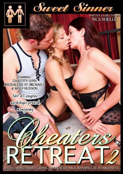 Cheaters Retreat #02 Porn DVD on Mile High Media with Chastity Lynn, Darla Crane, Nick Manning, Sean Michaels, RayVeness, Wolf Hudson, Magdalene St. Michaels