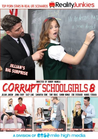 Corrupt Schoolgirls #08 Reality Porn DVD on RealityJunkies with Erik Everhard