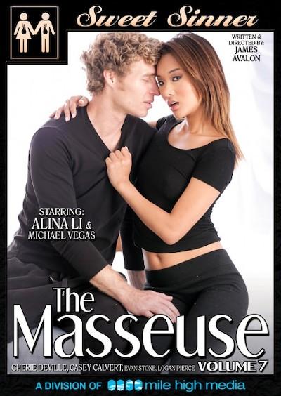 The Masseuse #07 Porn DVD on Mile High Media with Alina Li, Casey Calvert, Evan Stone, Cherie DeVille, Logan Pierce, Michael Vegas