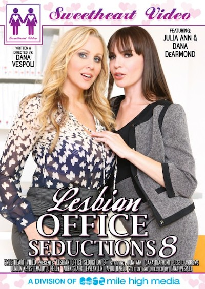 Lesbian Office Seductions #08 Porn DVD on Mile High Media with Aiden Starr, April O'neil, Dana DeArmond, Evelyn Lynn, Jessie Andrews, London Keyes, Julia Ann, Maddy OReilly