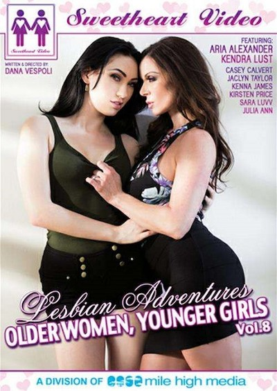 Lesbian Adventures _ Older Women, Younger Girls #08 Porn DVD on Mile High Media with Aria Alexander, Casey Calvert, Jaclyn Taylor, Kenna James, Julia Ann, Kirsten Price, Kendra Lust, Sara Luvv