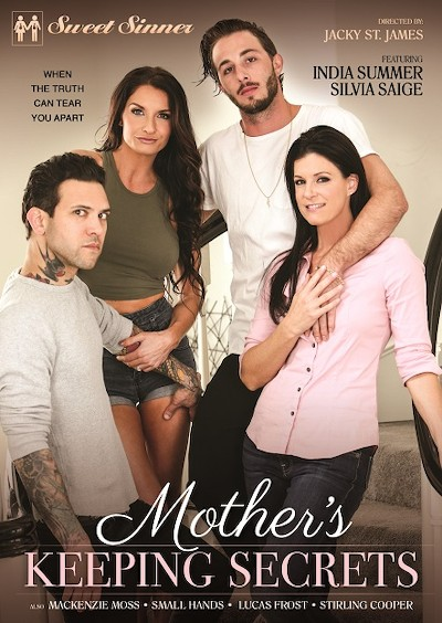 Mother's Keeping Secrets Porn DVD on Mile High Media with India Summer, Lucas Frost, Silvia Saige, Small Hands, Stirling Cooper, Mackenzie Moss