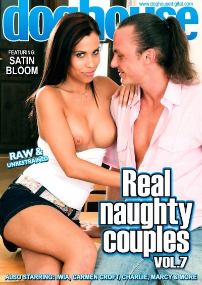 Real Naughty Couples Vol 07 Porn DVD on Mile High Media with Cage, Claudio Pedro, Carmen Croft, Charlie, Iwia, Marcy, Kris, Johnyy, Satin Bloom, Steavn
