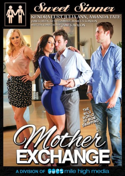 Mother Exchange Porn DVD on Mile High Media with Amanda Tate, James Deen, Julia Ann, Marcus London, Kendra Lust, Seth Gamble
