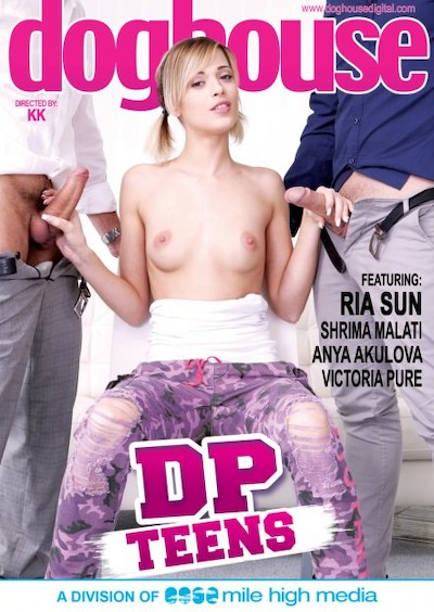 DP Teens Porn DVD on Mile High Media with Anya Akulova, Angelo Godshack, George Uhl, Charlie Dean, Michael Fly, Ria Sunn, Victoria Pure, Shrima Malati, Steve Q
